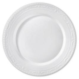KPM Kurland weiß Platte rund flach 37 cm