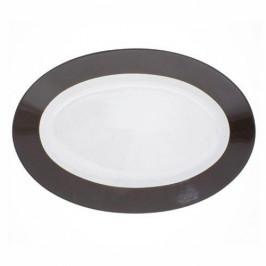 Kahla Pronto Colore schokobraun Platte oval 32 cm