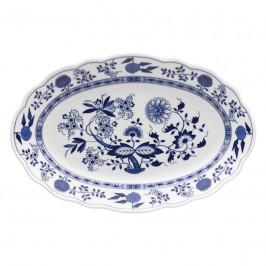 Hutschenreuther Blau Zwiebelmuster Platte oval 35 cm