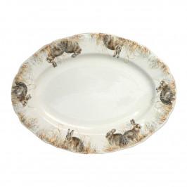 Gien 'Sologne' Platte oval 39,3 x 29 cm