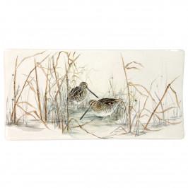 Gien 'Sologne' Platte rechteckig klein 19,3 x 10 cm