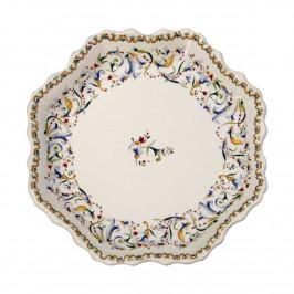 Gien 'Toscana' Platte Rouen 21,2 cm