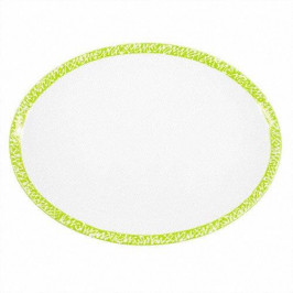 Gmundner Keramik Selektion Apfelgrün Platte oval 33 cm