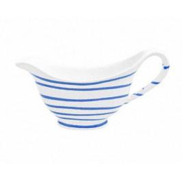 Gmundner Keramik Blaugeflammt Sauciere Gourmet 0,2 L / h: 10 cm