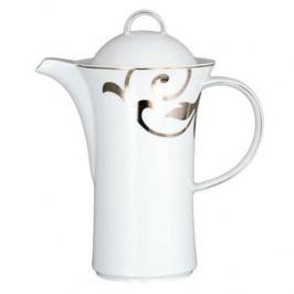 Königlich Tettau Jade Garbo Platin Kaffeekanne 6 Pers. 0,97 l