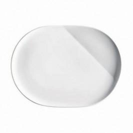 Kahla O - The better place / weiß Platte oval 23,5 cm