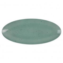 Seltmann Weiden Coup Fine Dining - Country Life petrol Platte Coup 33x18 cm