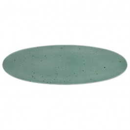 Seltmann Weiden Coup Fine Dining - Country Life petrol Platte Coup 44x14 cm