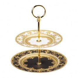 Rosenthal Versace I love Baroque Etagere klein 2-tlg. Teller 18-22 cm