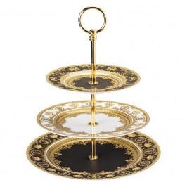 Rosenthal Versace I love Baroque Etagere 3-tlg. Teller 18-22-27 cm