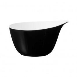 Seltmann Weiden Life Fashion - Glamorous Black Müslischale mit Griff 0,60 L
