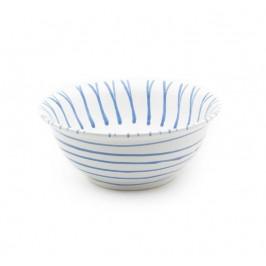 Gmundner Keramik Blaugeflammt Salatschüssel d: 26 cm / 2,0 L