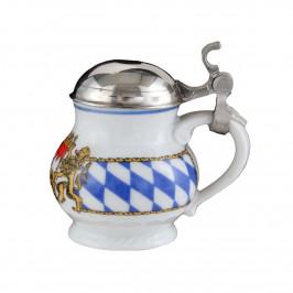 Seltmann Weiden Compact Bayern Schnapsbecher mit Deckel 0,04 L