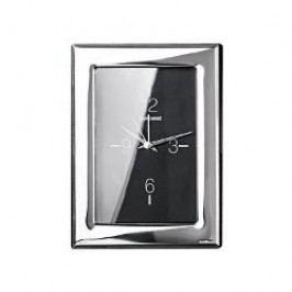 Sambonet Silberrahmen Wall clock 'Flat ' silver-plated 9 x 13cm