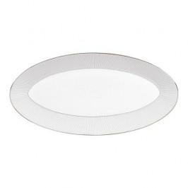 Wedgwood  'Jasper Conran Pin Stripe' Platte oval klein 39x21,5 cm