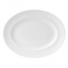 Wedgwood 'White China' Platte oval 35 cm
