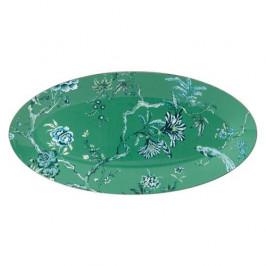 Wedgwood 'Jasper Conran Chinoiserie Green' Platte oval 45 cm