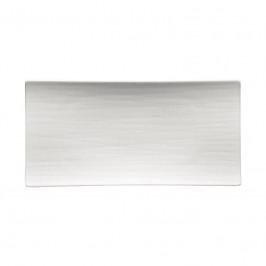 Rosenthal Mesh weiss Platte flach 26x13 cm