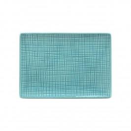 Rosenthal Mesh Aqua Platte flach 18x13 cm