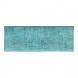 Rosenthal Mesh Aqua Platte flach 34x13 cm