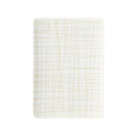 Rosenthal Mesh Line Cream Platte flach 18x13 cm