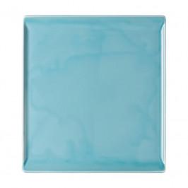 Rosenthal Mesh Aqua Platte flach - ohne Relief 26x24 cm