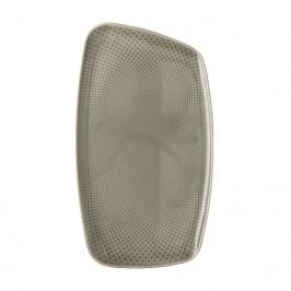 Rosenthal Junto Pearl Grey - Porzellan Platte 36x21 cm