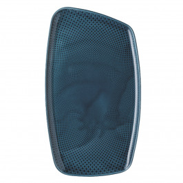 Rosenthal Junto Ocean Blue - Porzellan Platte 36x21 cm