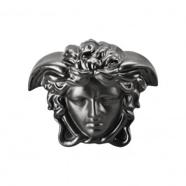 Rosenthal Versace Break the bank Spardose Medusenkopf black 18x12x14,5 cm