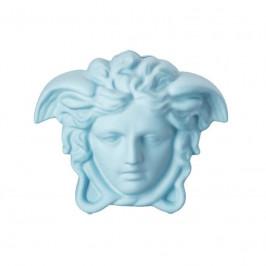 Rosenthal Versace Break the bank Spardose Medusenkopf blue 18x12x14,5 cm