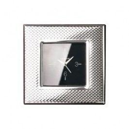 Sambonet Silberrahmen Wall clock 'Dew' silver-plated 9 x 9cm