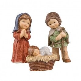 Goebel Nina & Marco Midi Krippe Heilige Familie Set 3-tlg. Maria / Josef / Jesuskind