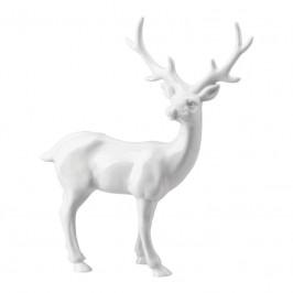 Hutschenreuther Märchenwald Porzellanfigur Hirsch groß h: 25 cm