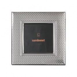 Sambonet Silberrahmen Picture frame 'Dew' silver plated 13 x 13 cm