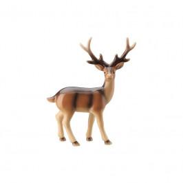 Hutschenreuther Cozy Winter Figur Hirsch - handbemalt h: 13 cm