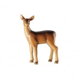 Hutschenreuther Cozy Winter Figur Reh - handbemalt h: 9,5 cm