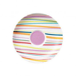 Thomas Sunny Day Stripes Espresso/Mokka Untertasse 12 cm