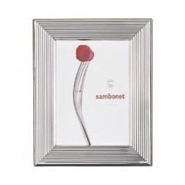 Sambonet Silberrahmen Picture frame 'More' silver plated 13 x 18 cm
