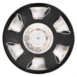 Rosenthal Versace Medusa Gala Gold Set 6 Teetassen 0,22 L