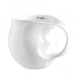 Luigi Colani Porzellan Ab ovo Black & White Kaffeebecher white 0,28 L