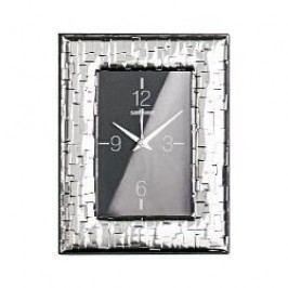 Sambonet Silberrahmen Wall clock 'Skin' silver-plated 9 x 13cm
