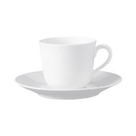 Fürstenberg Wagenfeld weiss Kaffee-/Tee Untertasse
