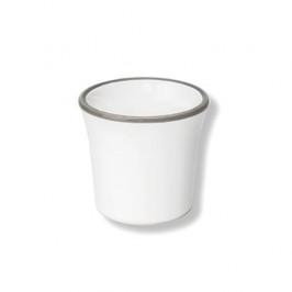 Gmundner Keramik Grauer Rand Eierbecher h: 5 cm