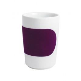 Kahla Five Senses touch Banderole Maxi-Becher aubergine 0,35 L