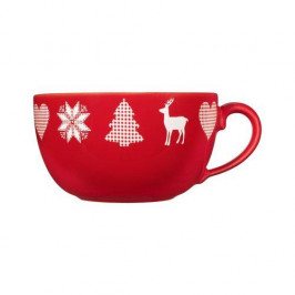 Friesland Happymix Weihnachten Rot Jumbo-Obertasse 0,56 L
