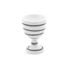 Gmundner Keramik Graugeflammt Eierbecher glatt d: 4,9 cm / h: 7,5 cm