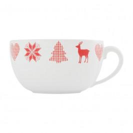 Friesland Happymix Weihnachten Weiß Jumbo-Obertasse 0,56 L