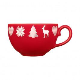 Friesland Happymix Weihnachten Rot Kaffee-Obertasse 0,24 L