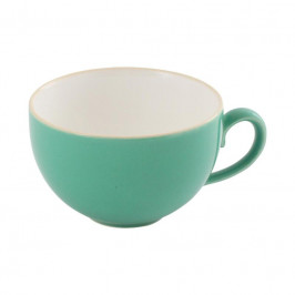 Friesland Trendmix Jade-Grün Kaffee-Obertasse innen weiß 0,24 L