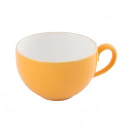 Friesland Happymix Safrangelb Kaffee-Obertasse innen weiß 0,24 L